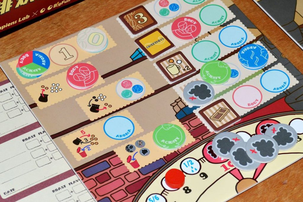 Coffee Roaster Board Game