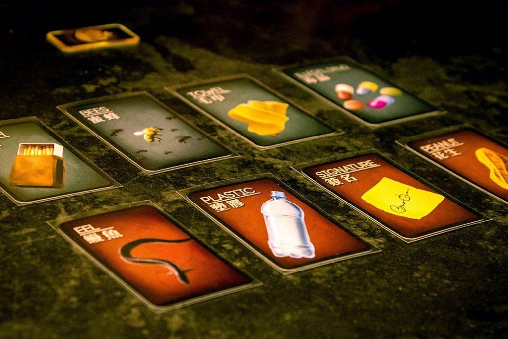 Deception Murder in Hong Kong Board Game