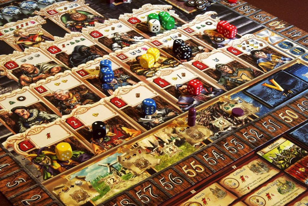 Kingsburg Worker Placement Board Game