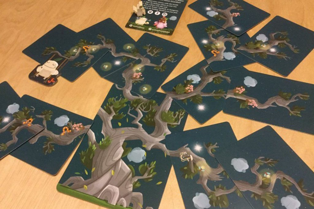 Kodama The Tree Spirits Board Game