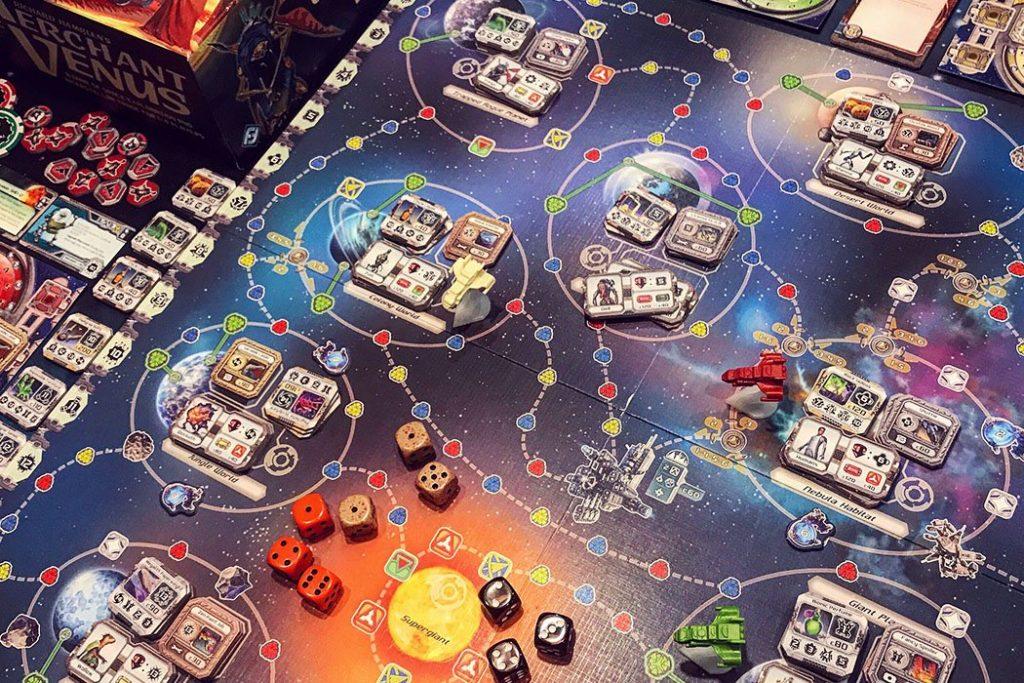 Merchant of Venus Board Game