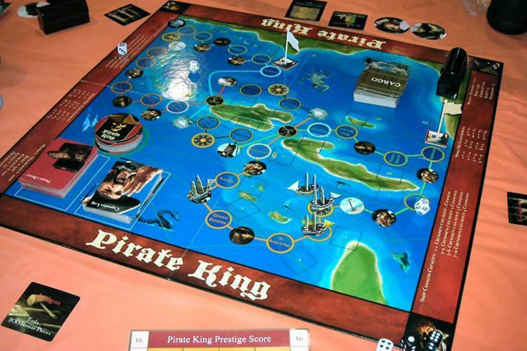 Pirate King Board Game