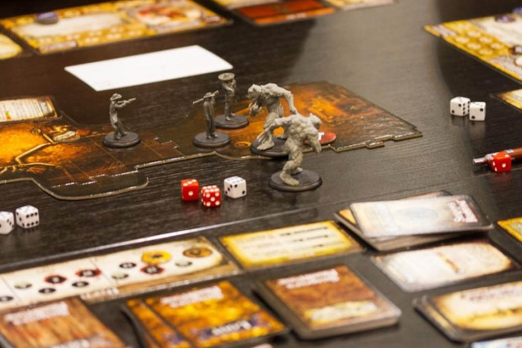 Shadows of Brimstone Board Game