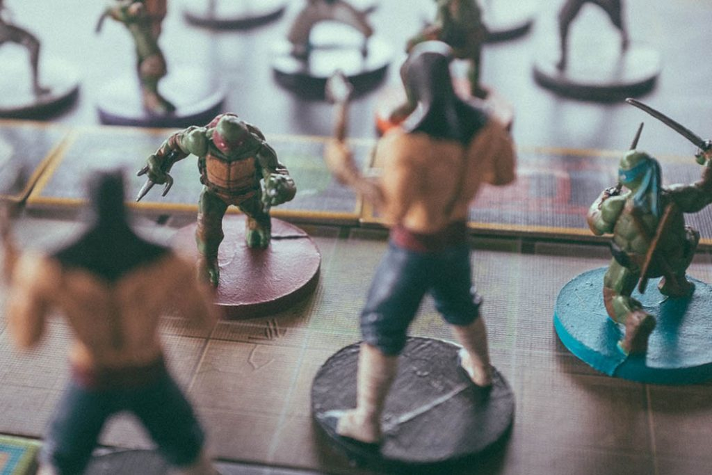 Teenage Mutant Ninja Turtles Shadows of the Past Board Game
