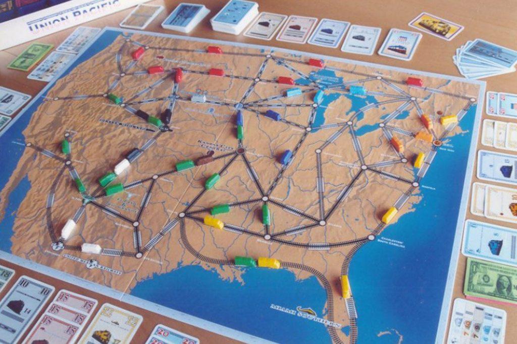 Union Pacific Board Game