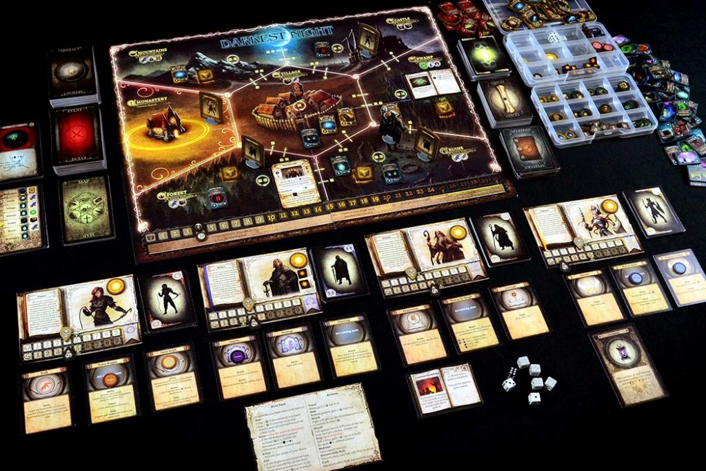 Darkest Night Board Game