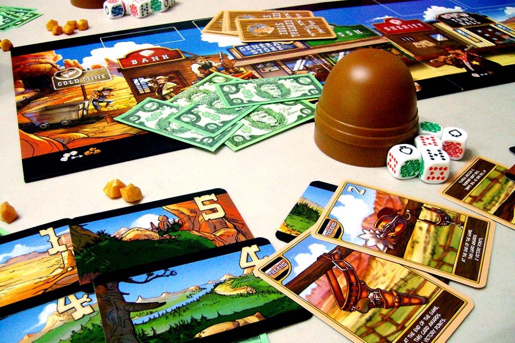 Dice Town Board Game