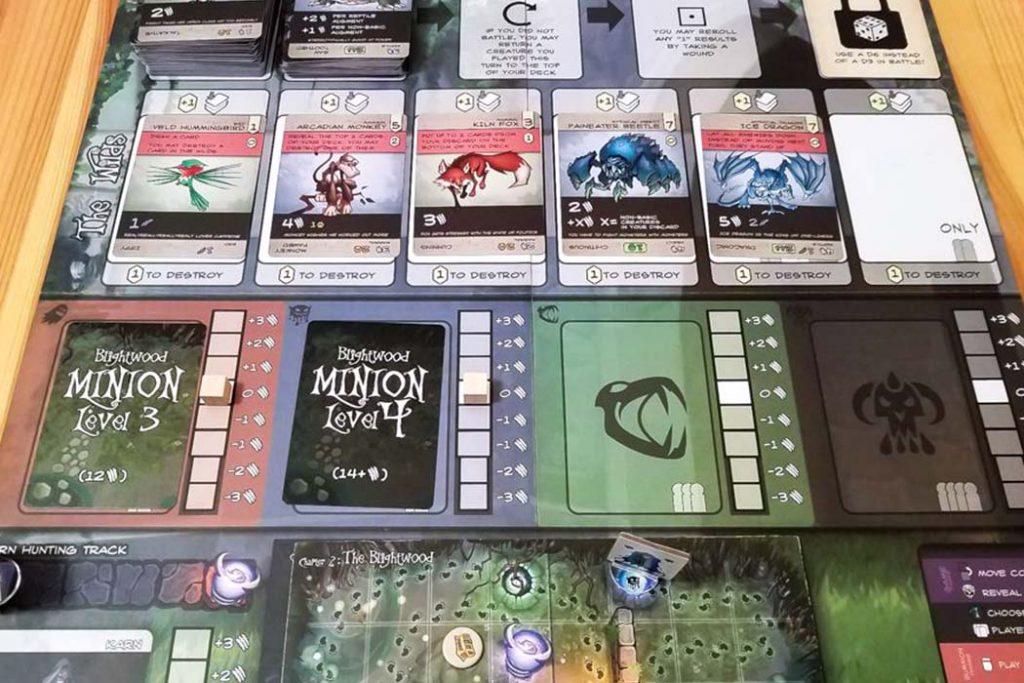 Direwild Board Game