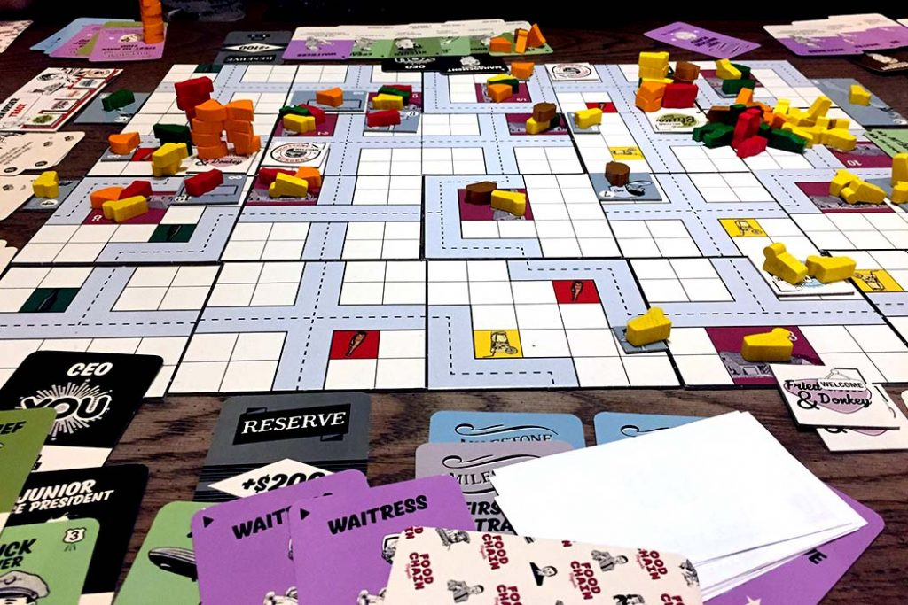 Food Chain Magnate Board Game