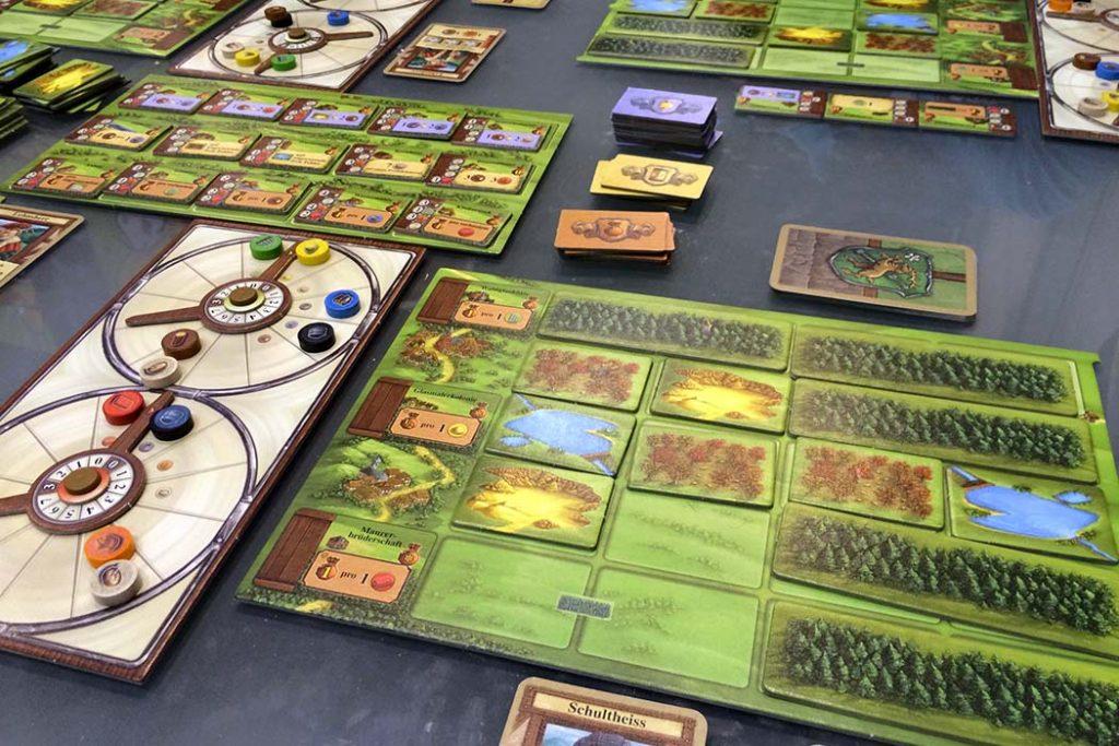 Glass Road Board Game