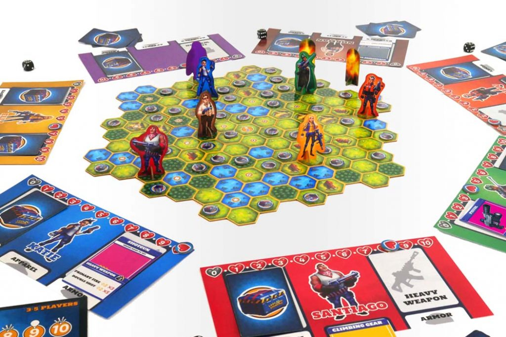 Last One Standing The Battle Royale Board Game