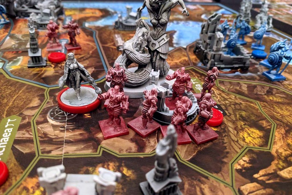 Lords of Hellas Board Game