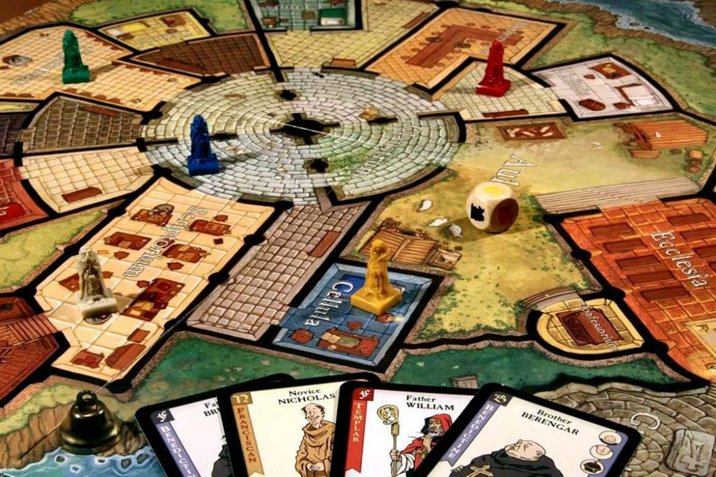 Mystery of the Abbey Board Game