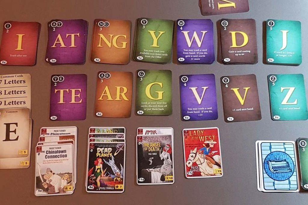 Paperback Word Game