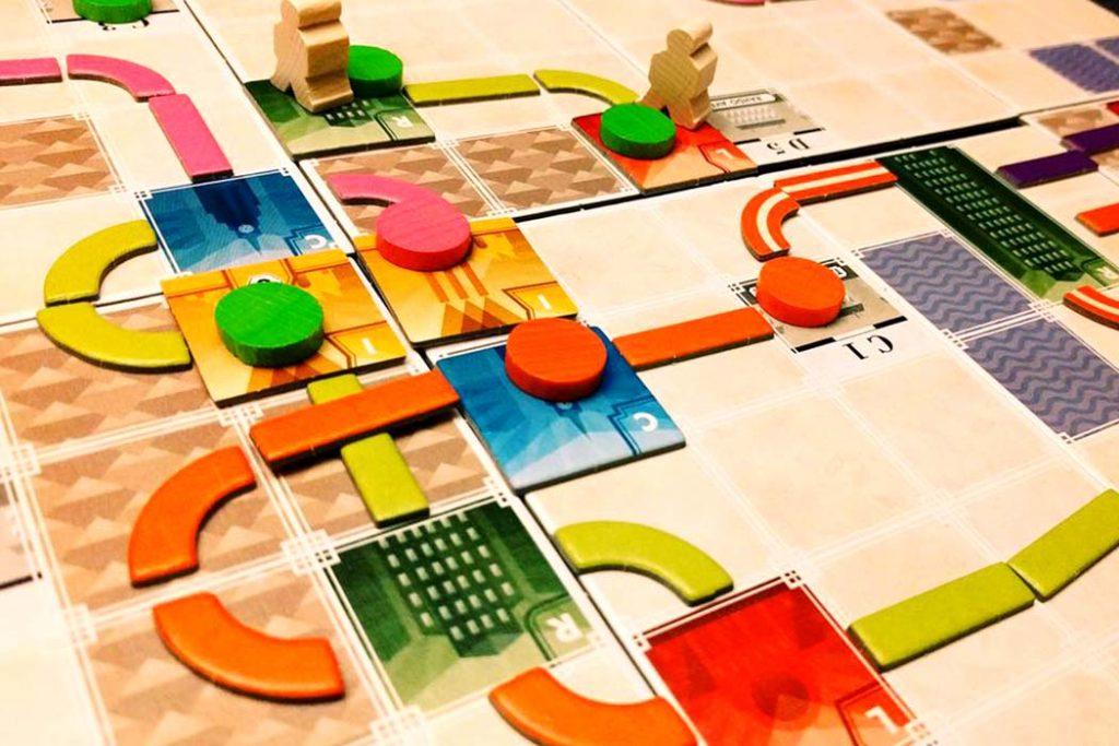 Tramways Board Game