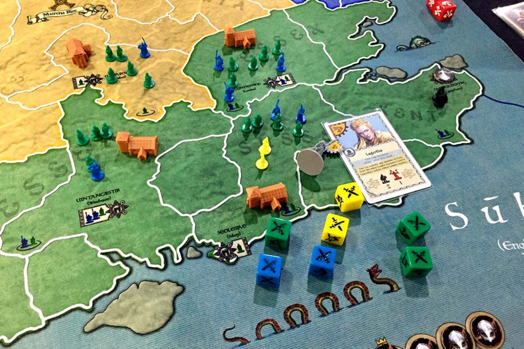 878 Vikings Invasions of England Board Game