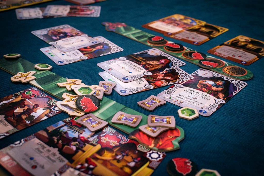 A Thiefs Fortune Board Game