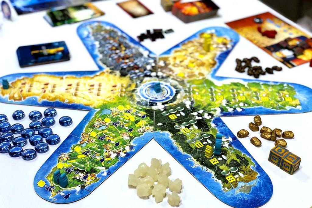 Atlantis Rising Board Game