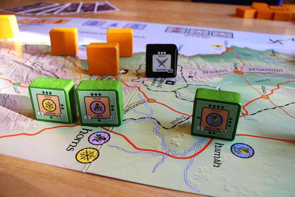 Crusader Rex Board Game