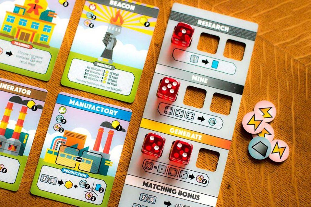 Fantastic Factories Board Game