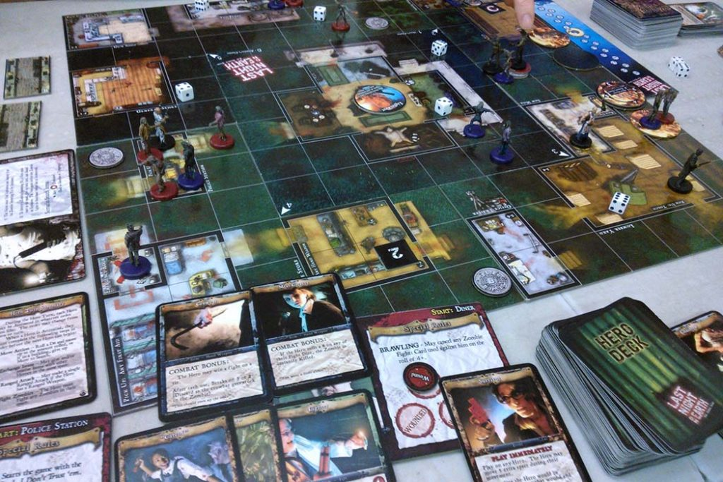 Last Night on Earth The Zombie Game Board Game