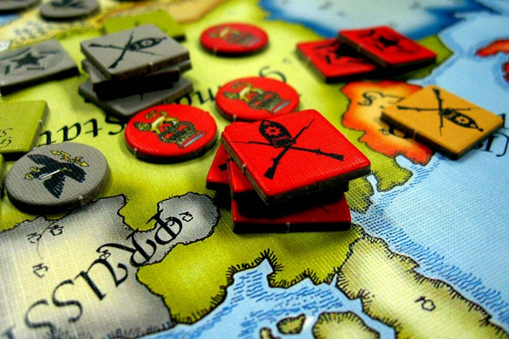 Struggle of Empires Board Game