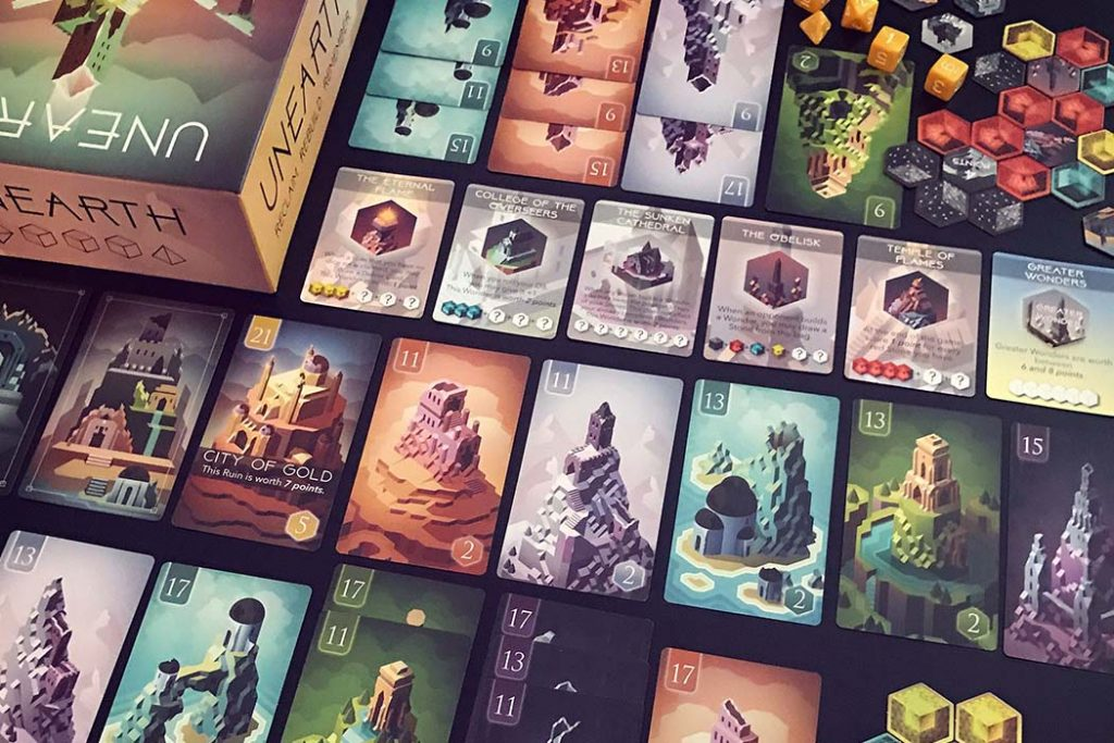 Unearth Board Game