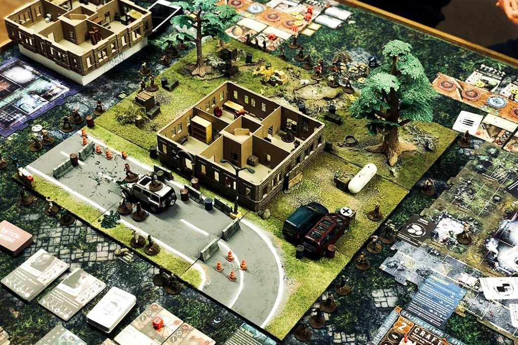 Zpocalypse 2 Defend the Burbs Board Game