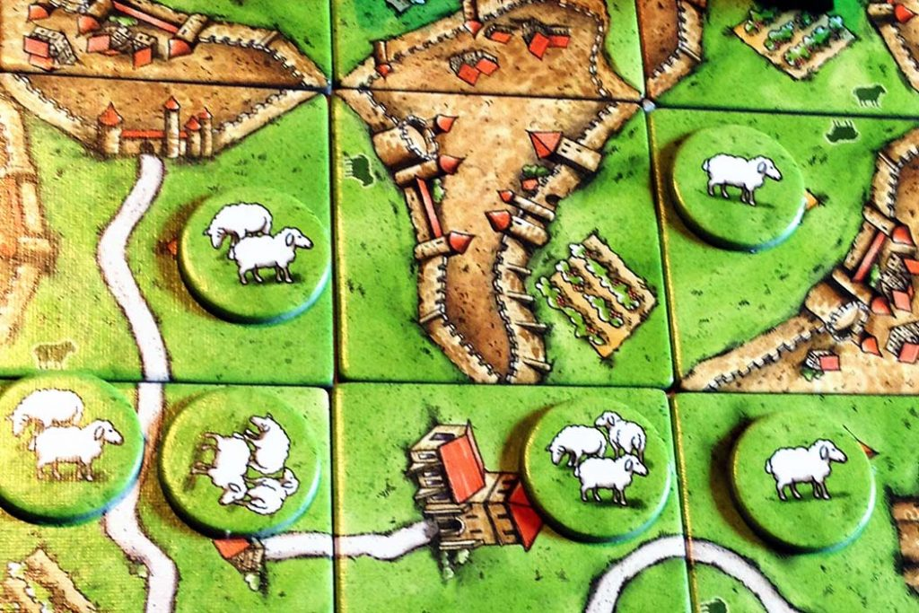 Best Carcassonne Expansions 9 Hill Sheep