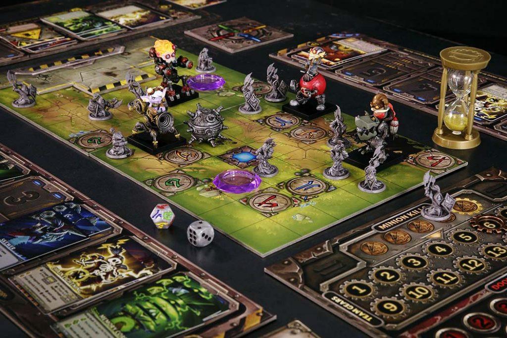 Mech Vs Minions Board Game