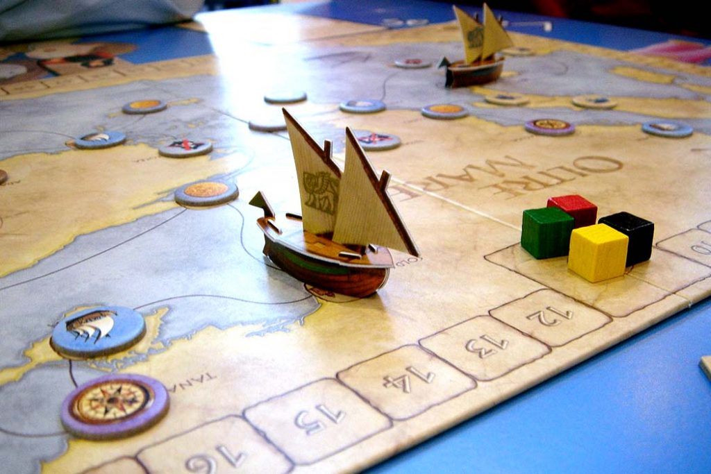 Oltre Mare Board Game