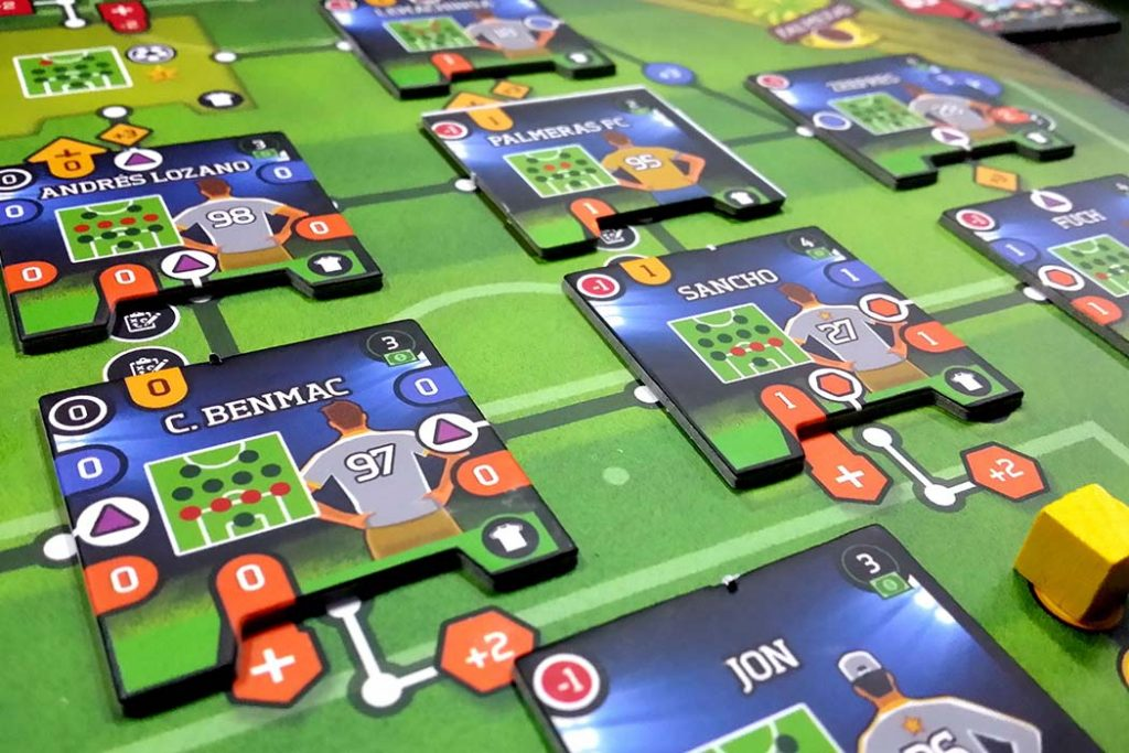 Time Of Soccer Board Game